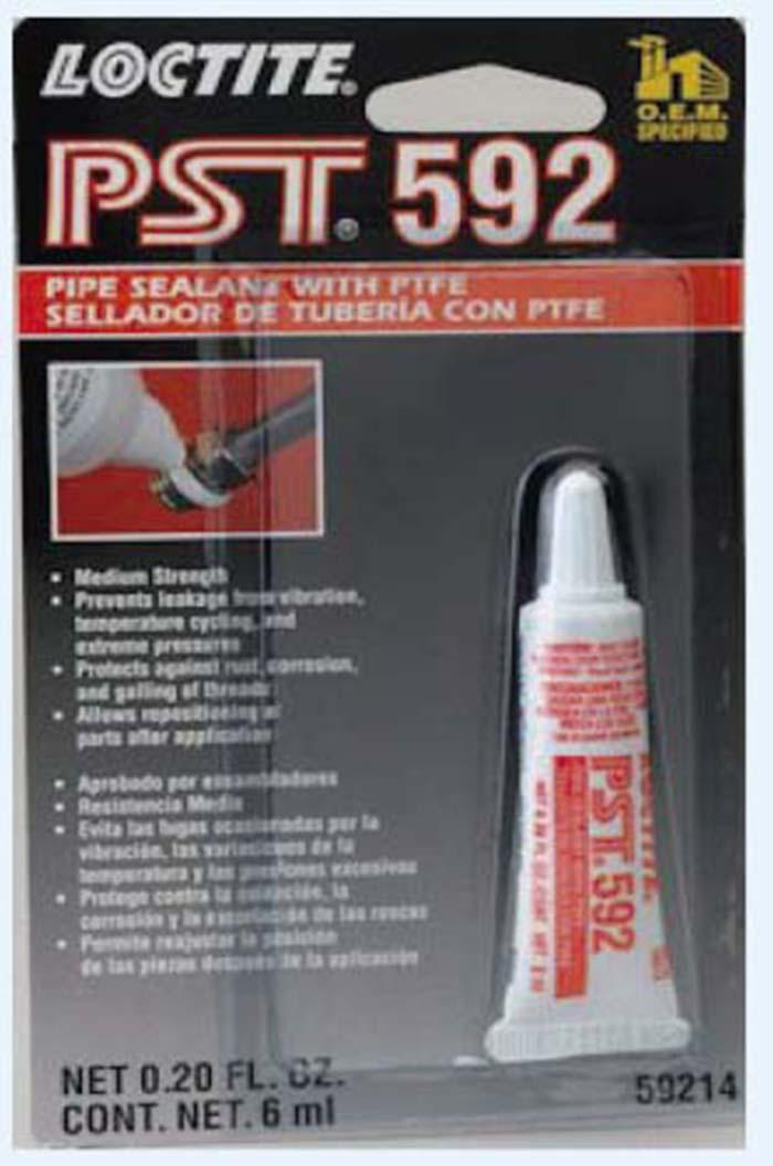 Autoclips LOCTITE 592 SELLADOR ROSCA C/TEFLON 6 ML