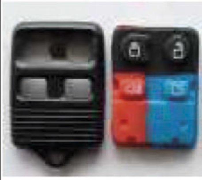 Autoclips CARCASA RANGER-ECOSPORT -FIESTA 4 BOTONES