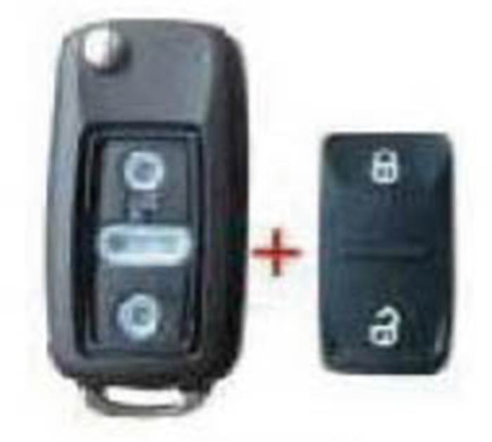 Autoclips CARCASA LLAVE VW AMAROK 2 BOT ENTERIZA C/TORN.